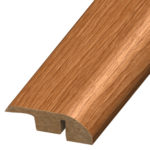 Reducer is used to transition floors of unequal height from wood/laminate floors to carpet, vinyl or til