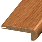 Stair Nosing is designed for installation on the edge of a stair tread. Stair nosing adds beauty to your home while absorbing much of the staircase traffic. Coordinates with vinyl flooring, trim and moldings.